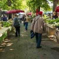 Marktzelte Markt Obst Bauernmarkt Gemüse