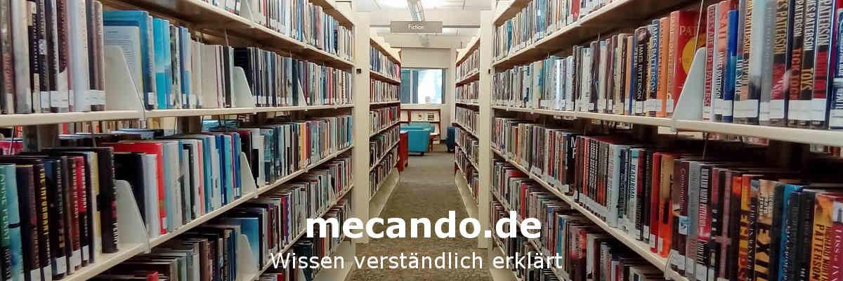 mecando.de - Wissen verständlich erklärt